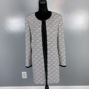 Tahari long sleeve heavy jacket, size 14